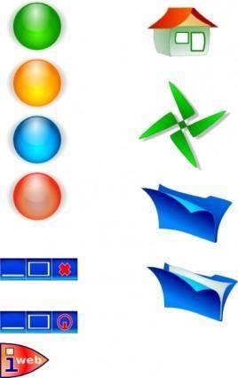 Bulet&icon clip art