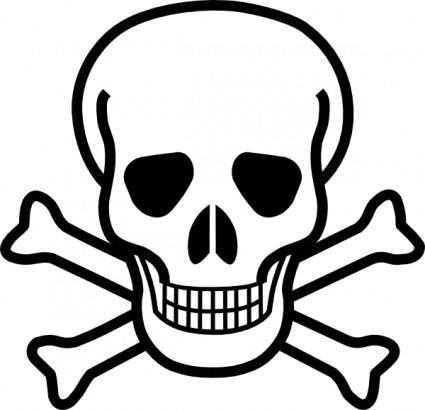 free vector Skull And Crossbones clip art
