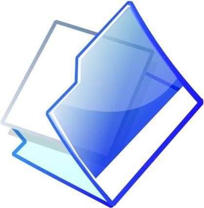 free vector Open Folder clip art