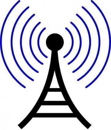Transmission Tower Antenna clip art