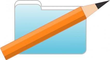 Art Folder clip art