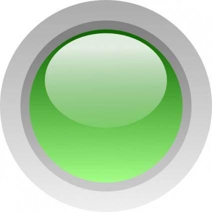 free vector Led Circle (green) clip art