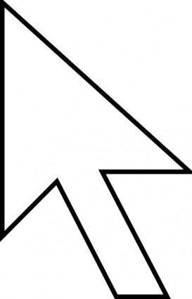 Cursor Arrow clip art