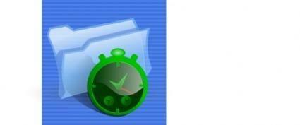 Cron Scheduler Icon clip art