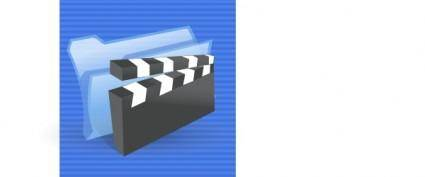 Video Multimedia Icon clip art