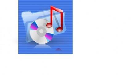 Multimedia Music Audio Icon clip art