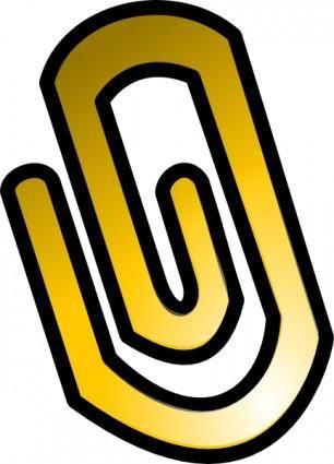 Clip Icon clip art