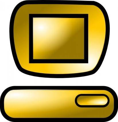 free vector Pc Desktop Icon clip art