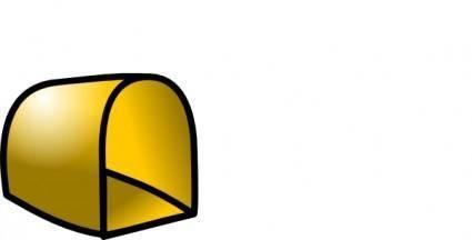 Empty Mailbox Icon clip art