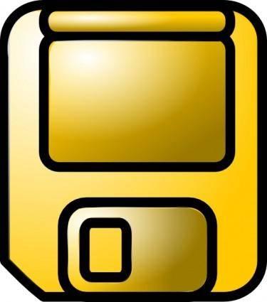 Disk Icon clip art