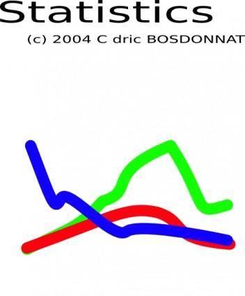 Statistics clip art
