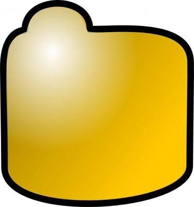 Closed Folder Icon clip art