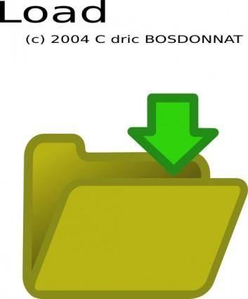 free vector Load clip art