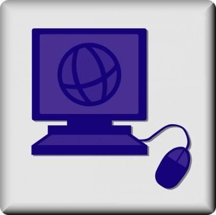 Hotel Icon Web Access clip art