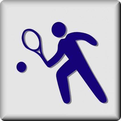 free vector Hotel Icon Tennis clip art
