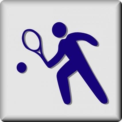Hotel Icon Tennis clip art