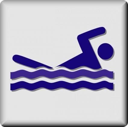 Hotel Icon Swimming Pool clip art