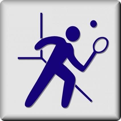 Hotel Icon Squash clip art