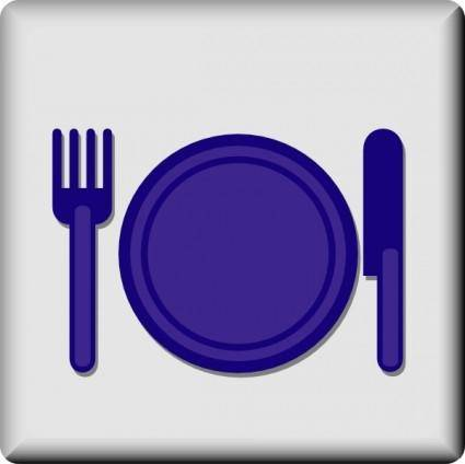 free vector Hotel Icon Restaurant clip art