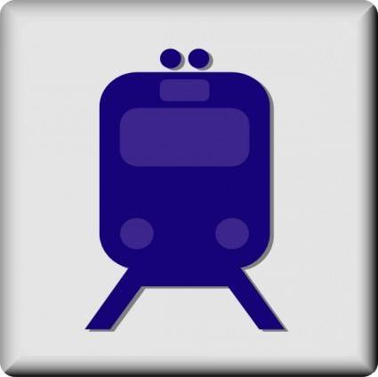 Hotel Icon Rail Transport clip art