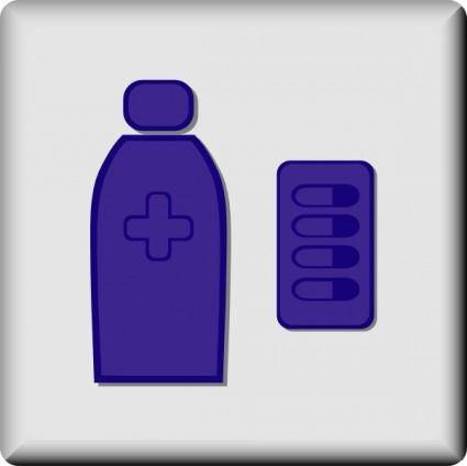 Hotel Icon Pharmacy clip art