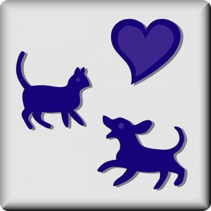 Hotel Icon Pets Welcome clip art