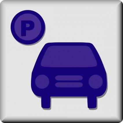 Hotel Icon Parking Available clip art