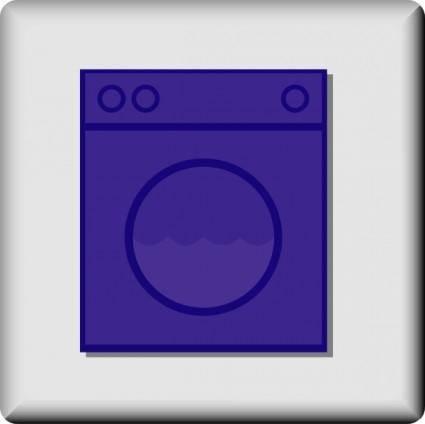Hotel Icon Laundromat clip art