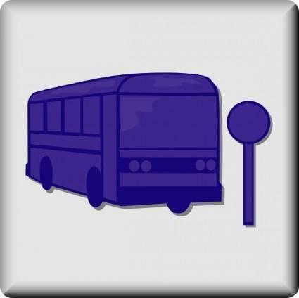 free vector Hotel Icon Bus Stop clip art