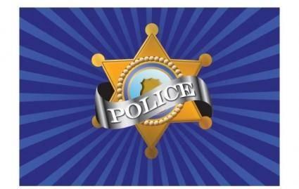 free vector Vector Police Badge