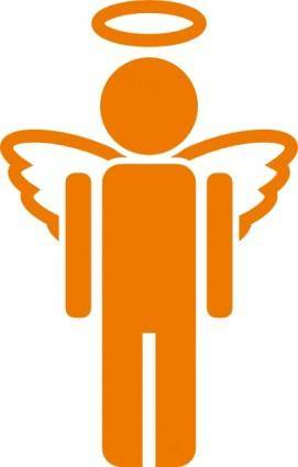 Angel Icon clip art