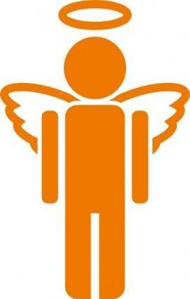 Angel Icon clip art