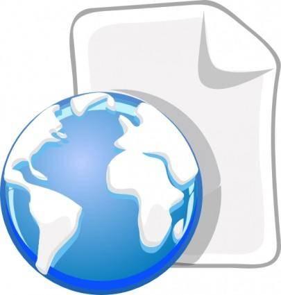 Globe Paper World Earth clip art