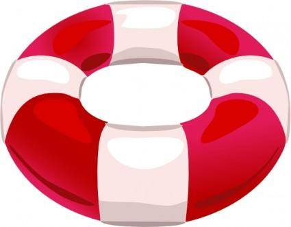 Help Save Life Float clip art