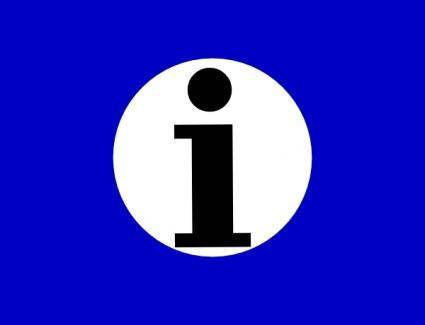Information Icon clip art