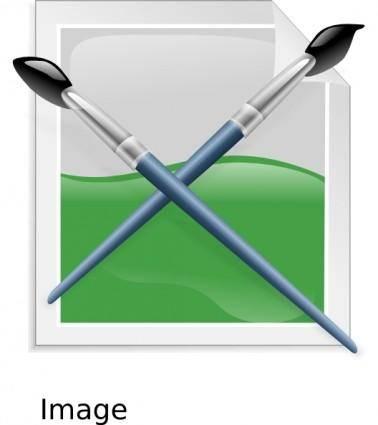 Etiquette Icons clip art