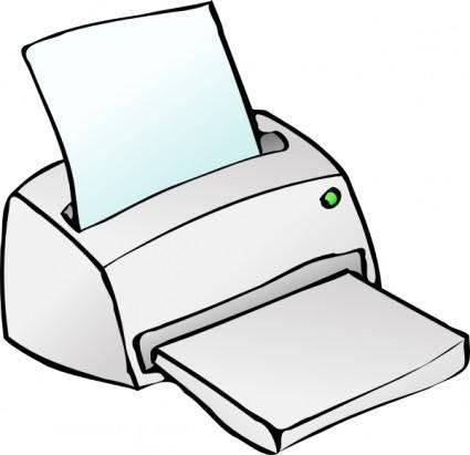 Inkjet Printer clip art