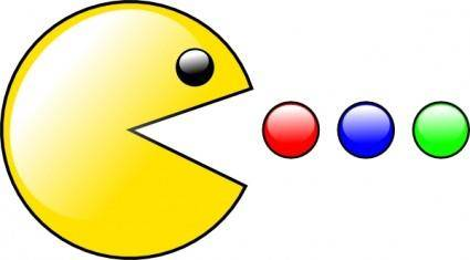 Pacman (yet Another) clip art