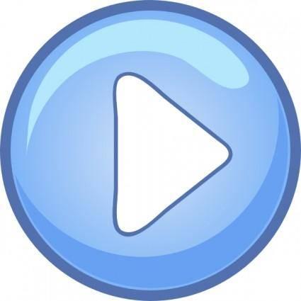 Play Icon clip art