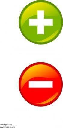 Svg Buttons clip art
