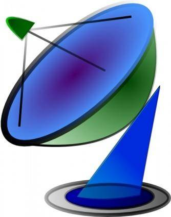 Satellite Dish clip art