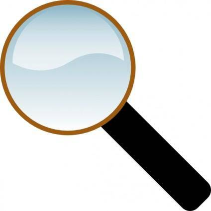 free vector Magnifing Glass clip art