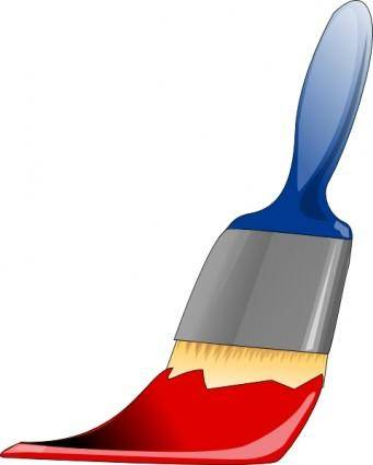 free vector Paint Brush clip art