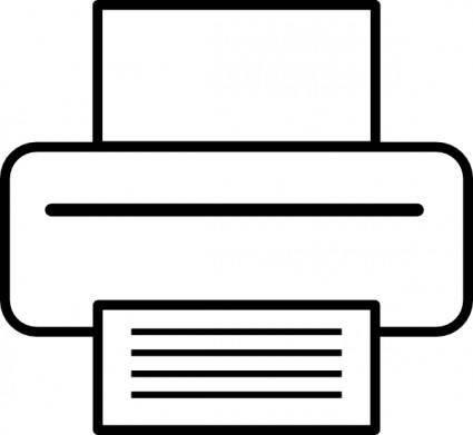 Printer clip art