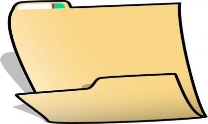 Fancy Folder clip art