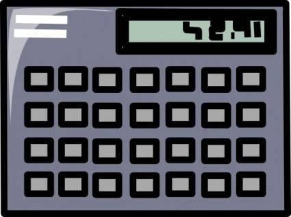 Scientific Calculator Symbol Icon clip art