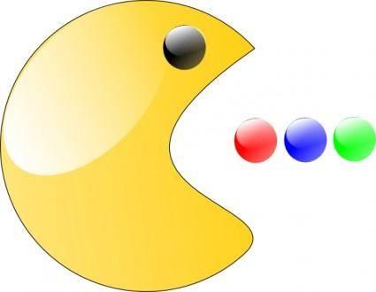 free vector Pac Man clip art
