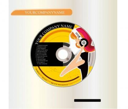 free vector Cd cover vector