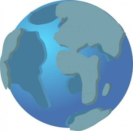 World Wide Web Globe Earth Icon clip art