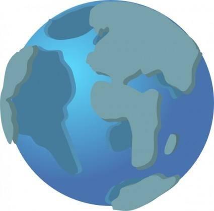 free vector World Wide Web Globe Earth Icon clip art